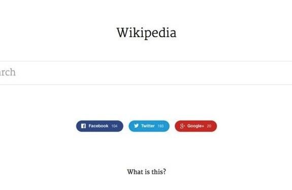 Un nuevo concepto minimalista para Wikipedia 3