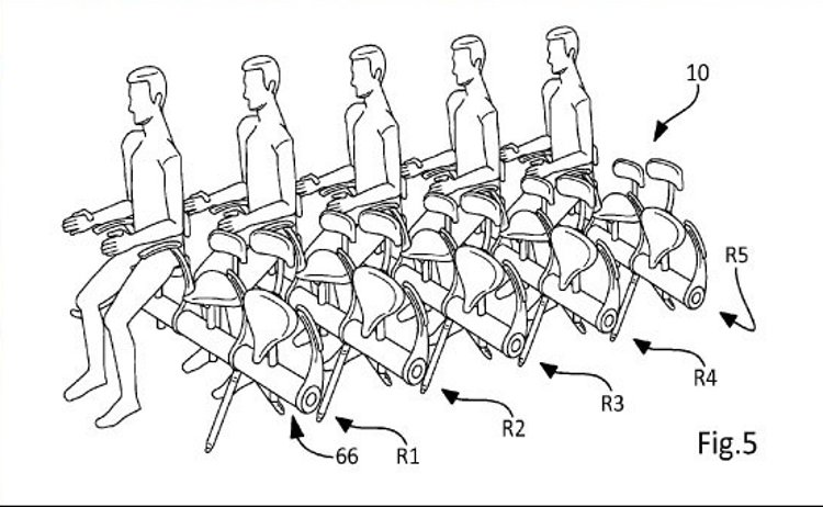 Aviones sillines bicicleta vez asientos