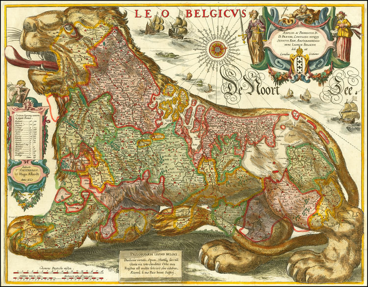 Cartografía histórica curiosa