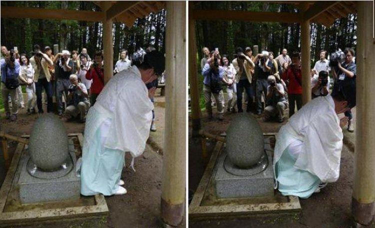 Un santuario japonés donde se tratan las hemorroides 2
