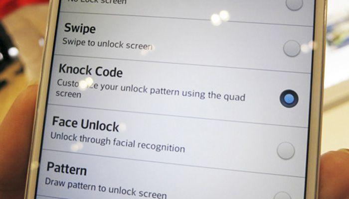 KnockCode y las 80.000 combinaciones de bloqueo