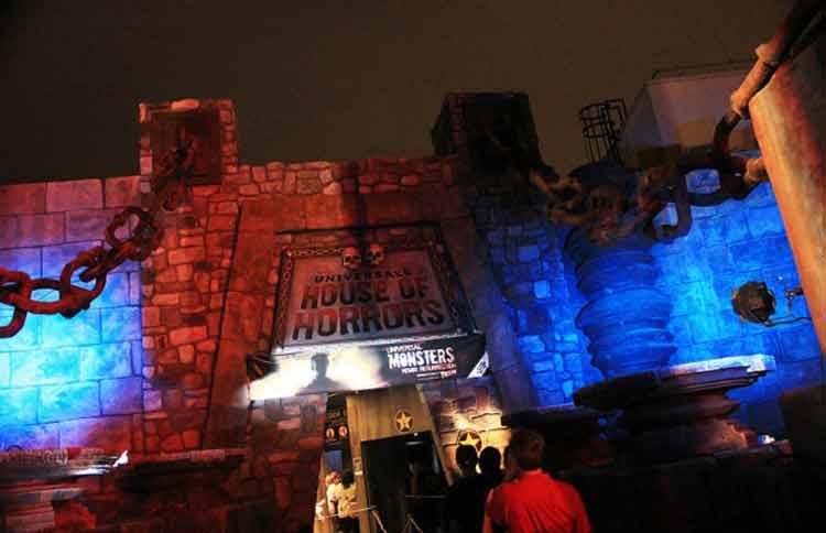 La Universal's House of Horrors de Universal Studios en Hollywood cierra sus puertas