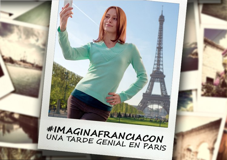 Imagina Francia foto Instagram ganar viaje siete dias