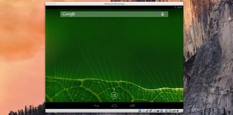 Como usar Android en un Mac
