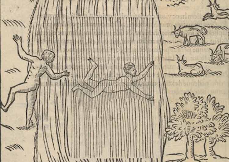 El Arte de Nadar: un bonito libro de finales del s. XVI