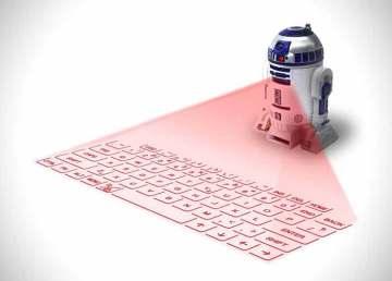 El teclado virtual R2-D2 con el sonido original del robot de Star Wars