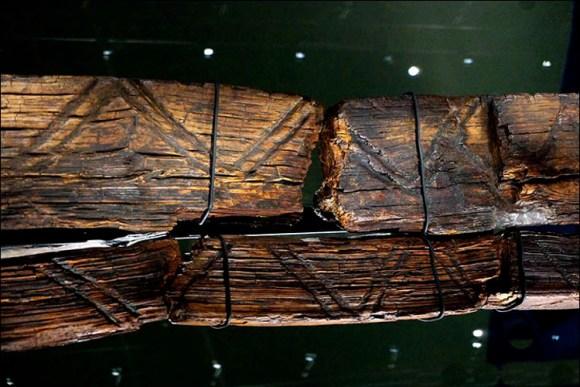 Idolo podria ser escritura antigua Historia 3