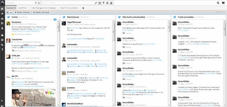 Nuevo lavado de cara de Hootsuite, uno de los clientes de Twitter más populares