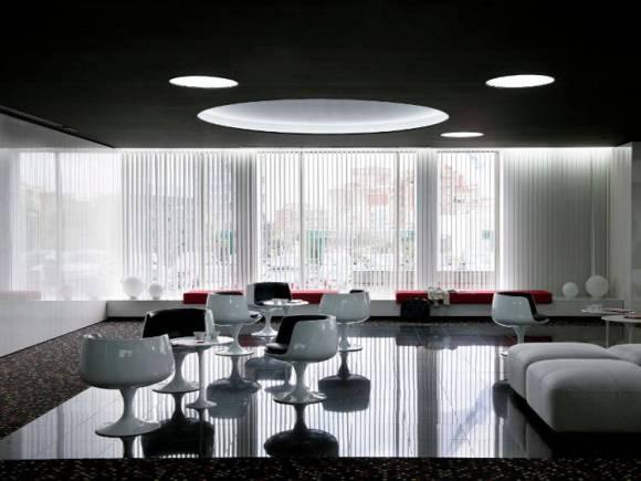 Barcelo Sants hotel ambientacion espacial 2