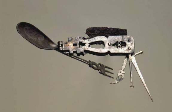 Una navaja multiusos romana de hace 1800 años