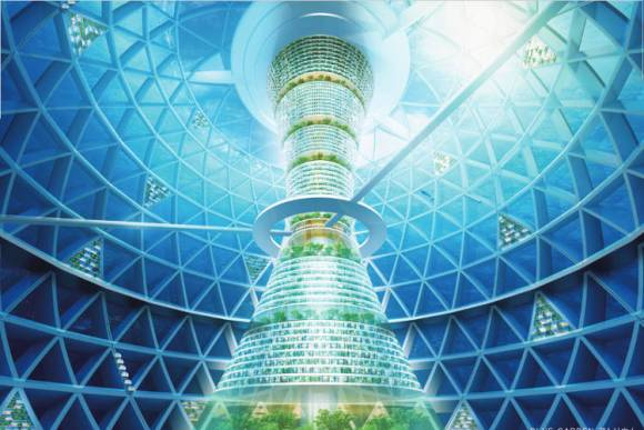 Ocean Spiral proyecto japones ciudad submarina 2