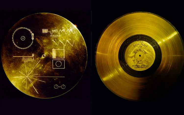 The Golden Record, el disco que se envió en la sonda Voyager 1
