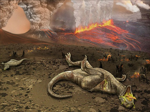 Por que se extinguieron realmente los dinosaurios 2
