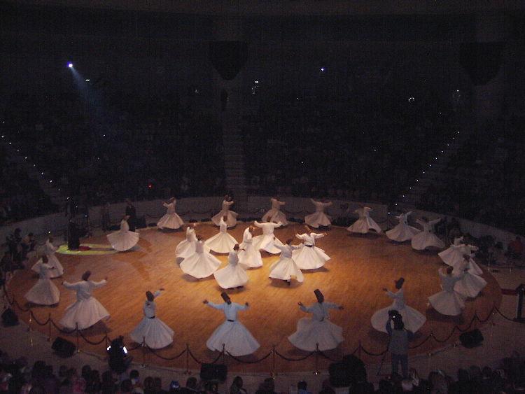 El Seb-i-Aruz de los derviches en Konya