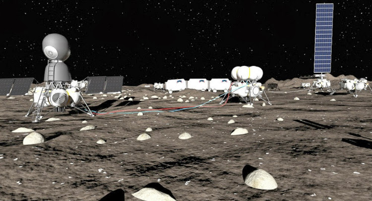 Una empresa rusa proyecta construir una base en la Luna