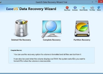 Recupera archivos borrados en tu PC o Mac con EaseUS Data Recovery Wizard 2