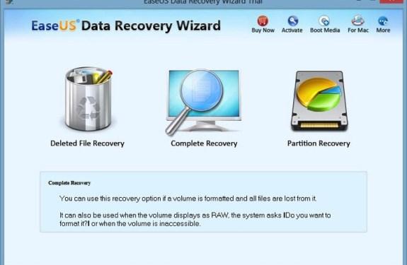 Recupera archivos borrados en tu PC o Mac con EaseUS Data Recovery Wizard 2