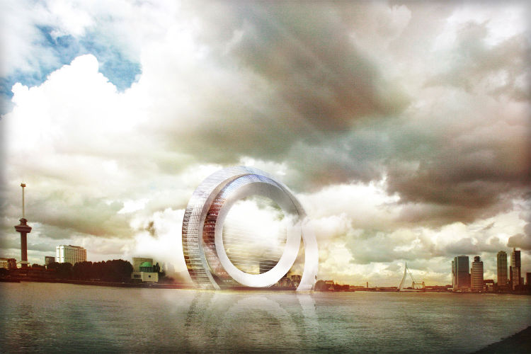 The Dutch Windwheel, el edificio más futurista de Róterdam 1