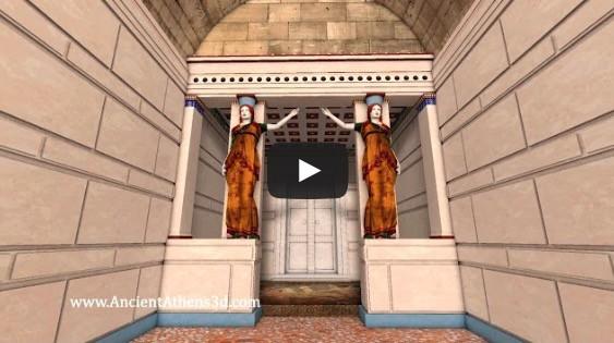 Un recorrido virtual por la Tumba de Anfípolis