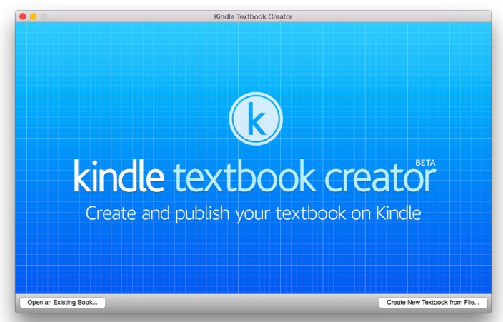 Publica tu libro de texto con Amazon Kindle Textbook Creator