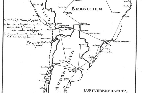 El falso mapa nazi del que nunca has oido hablar