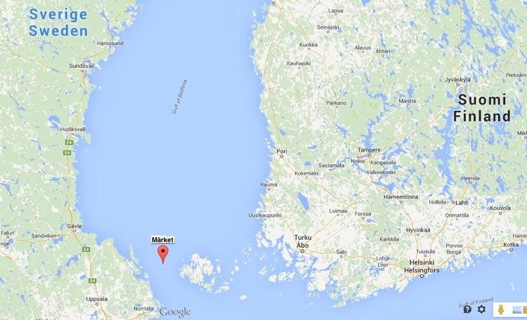 Situación de la Isla Märket