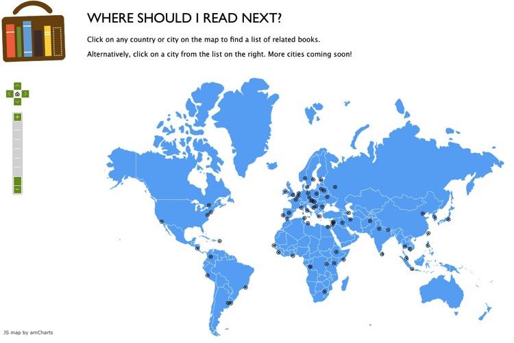 What I Should Read Next te recomienda libros basándose en un algoritmo de filtrado colectivo