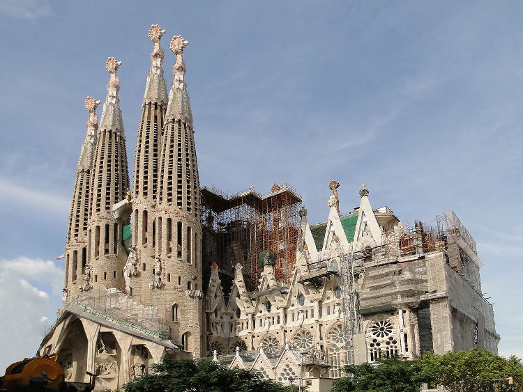 Una impresión 3D para terminar la Sagrada Familia