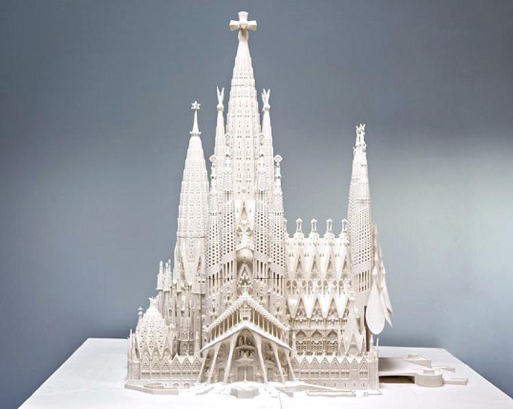Impresion 3D para terminar Sagrada Familia1