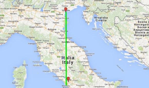 Venecia - Roma