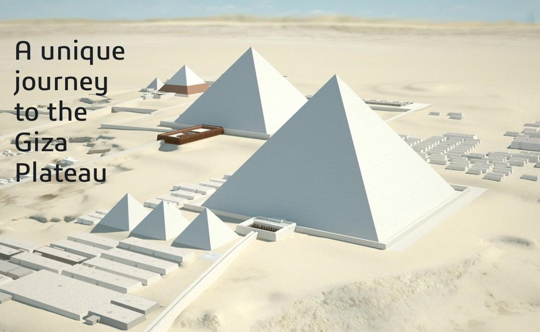 Viaje virtual en 3D a las pirámides de Egipto