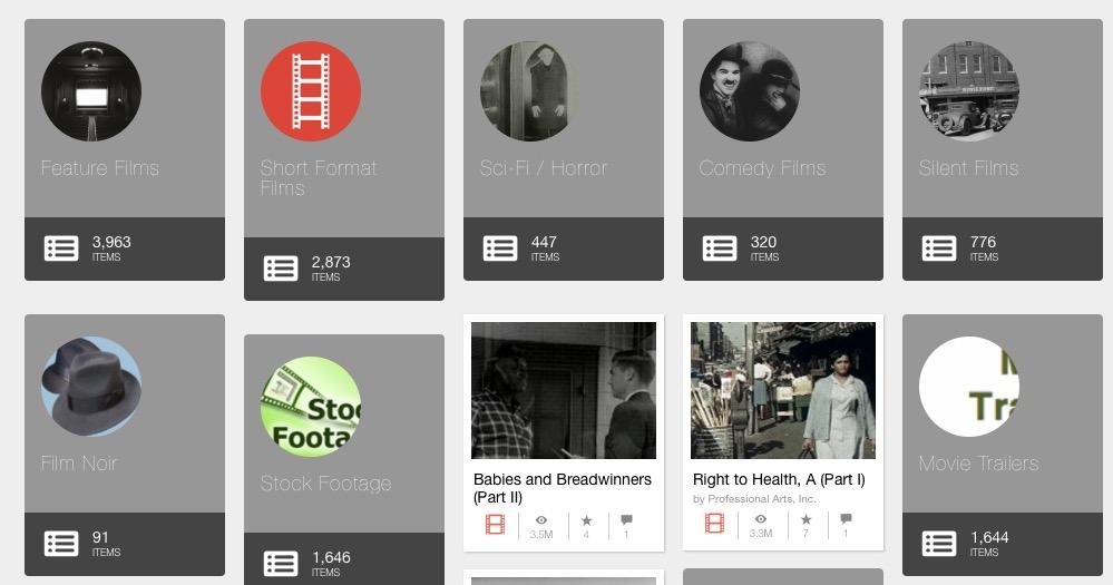 Ver películas en Internet Archive