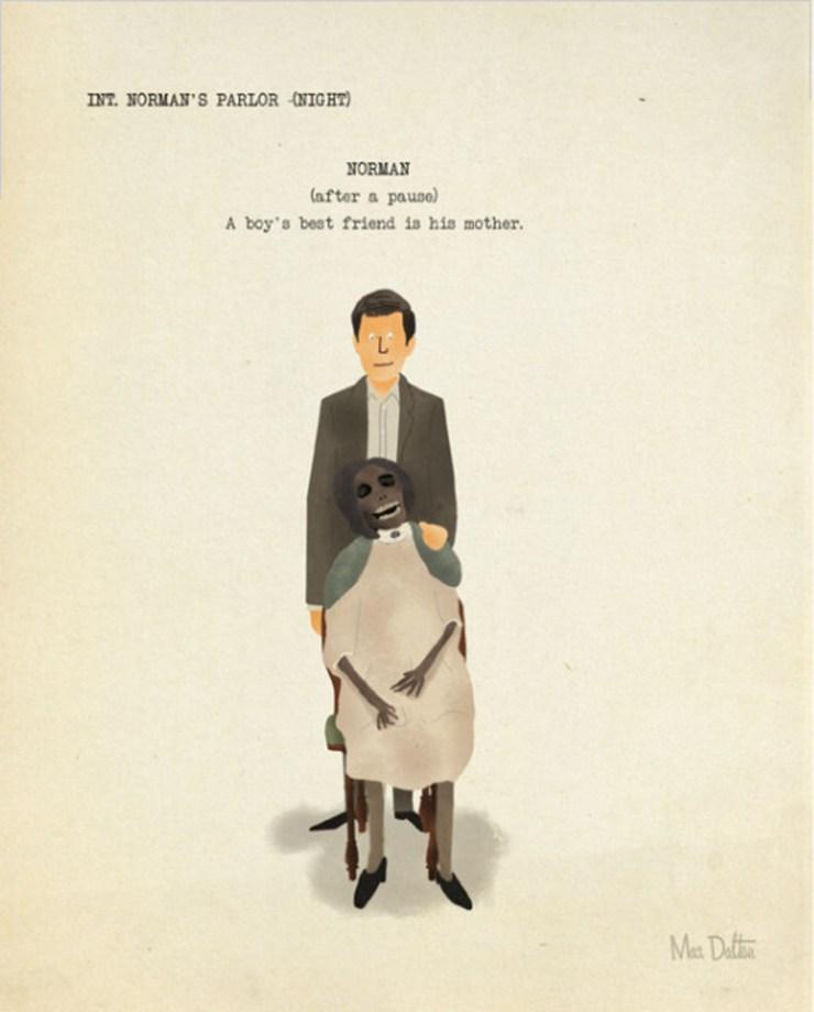 Grandes escenas parejas cine vistas artista Max Dalton 5
