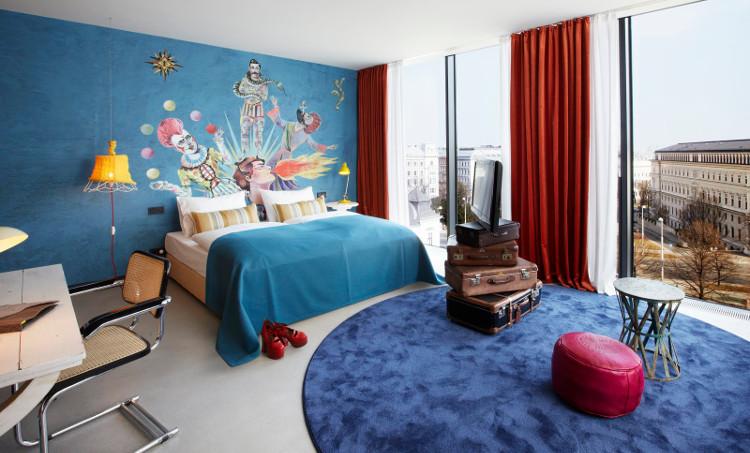 Rememorando el mundo del circo en el 25 Hours Hotel de Viena