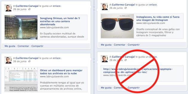 Enlaces no detectados por Facebook: cómo solucionarlo fácilmente