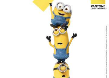 Pantone anuncia el color amarillo Minion