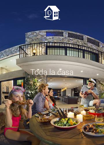 Aplicación móvil de HomeAway para reservar o encontrar apartamento turístico 3