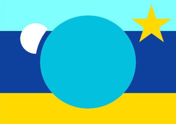 Crean bandera representar toda Tierra 7