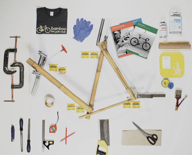 Haz propia bicicleta bambu recibiendo piezas correo 2