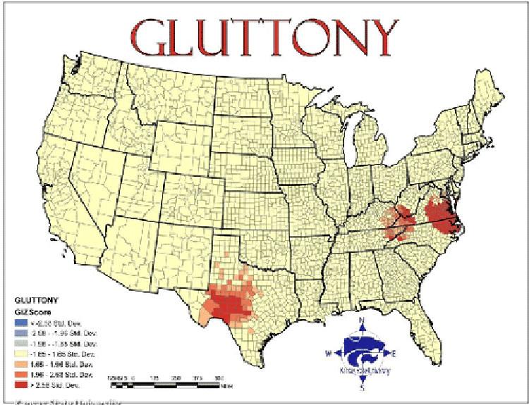 Mapa siete pecados capitales EEUU 3