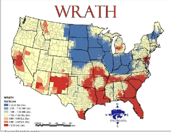 Mapa siete pecados capitales EEUU 4