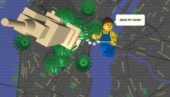 Brick Street View: visualiza el mundo como si estuviera hecho con LEGO 2