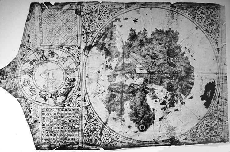 Mappa del mondo Alertinius da Virga