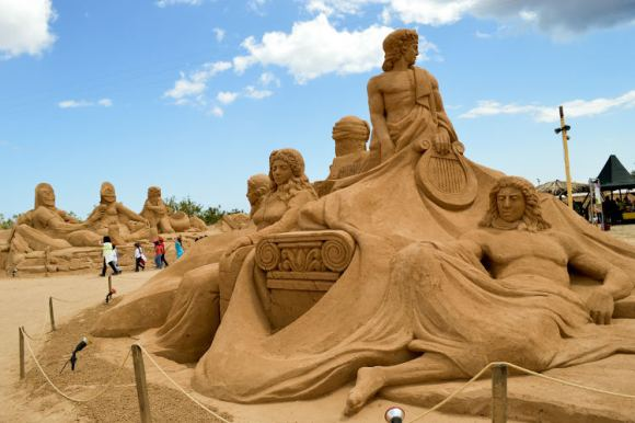 Mayor festival mundial escultura arena Portugal 3