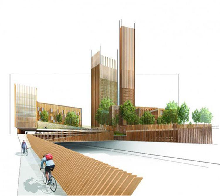 París tendrá el edificio de madera más alto del mundo