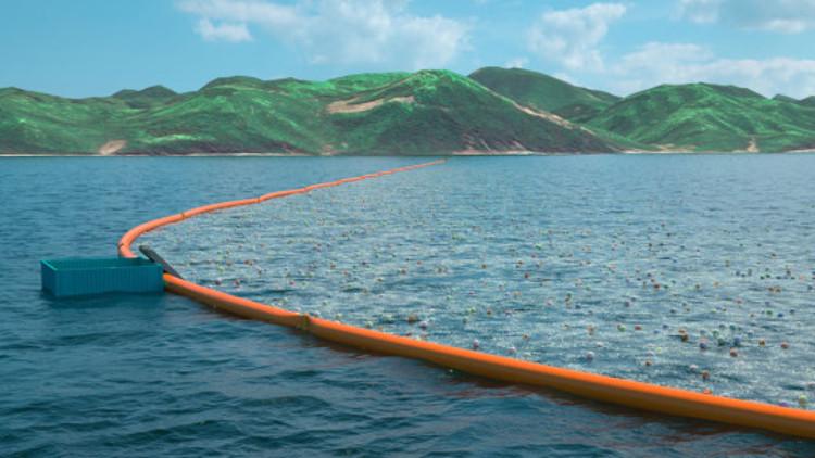 Un adolescente crea un sistema para limpiar de plásticos el océano