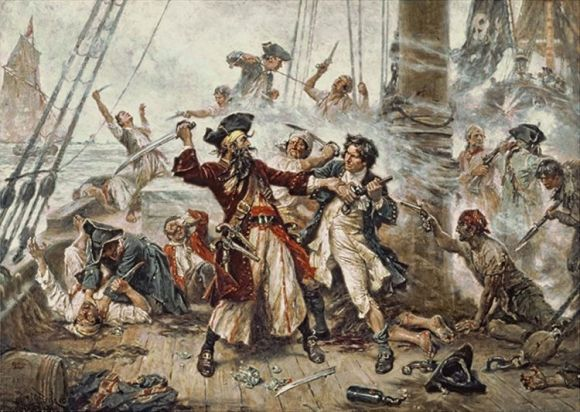 Verdaderos piratas Caribe