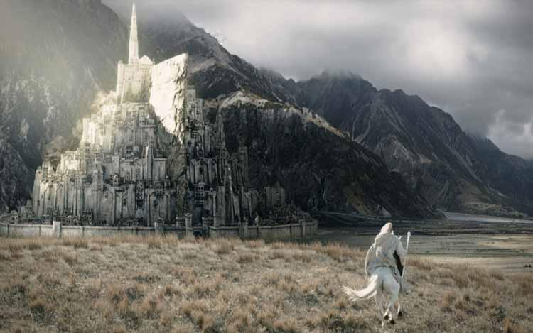 Arquitectos planean una réplica a escala real de Minas Tirith, la ciudad de El Señor de los Anillos