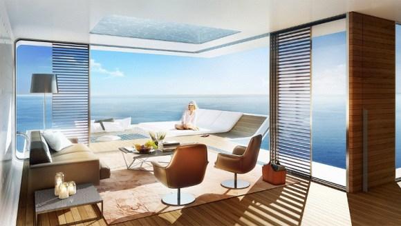 Fantasticas villas semisumergidas Dubai 2