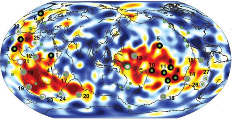 Mapa 3D interior Tierra estudiar formacion volcanes 1